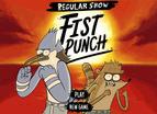 Regular Show Games Fist Punch