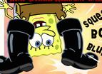 Spongebob Click Squeaky Boot