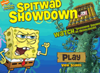 Spongebob Spitwad Showdown