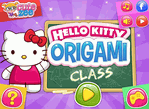 Hello Kitty 教你摺紙