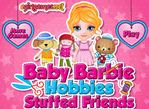 Baby Barbie Hobbies Stuffed Friends
