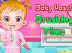 教寶貝刷牙