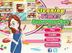 Cleaning Time Super Market