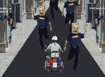 警察撞路人