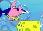 Spongebob Squarepants Shell Throwing