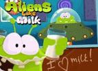 外星人愛牛奶