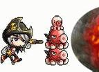 楓之谷海盜vs蘑菇王