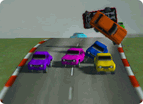 Unity3d Road Vs Cars